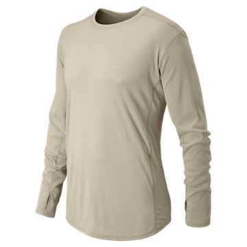 New Balance Long Sleeve Shirt, Sand