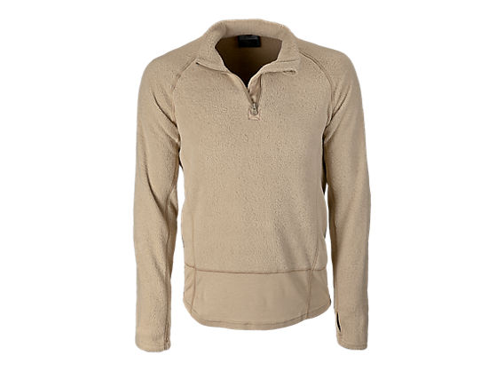 Long Sleeve Mockneck, Sand