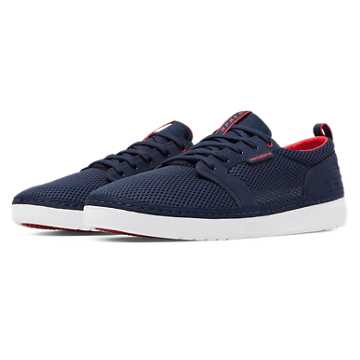 New Balance Apres, Navy with Red