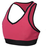 New Balance Girls Pace Bra, Alpha Pink