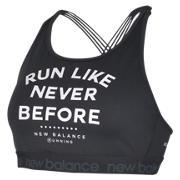 New Balance Womens Sport In Style Bra, Black