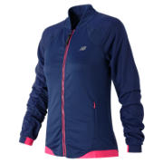 Metro Light Bomber, Sailor Blue with Pink Zing