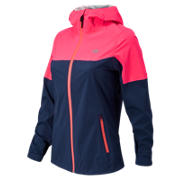 Cosmo Proof Jacket, Sailor Blue with Pink Zing