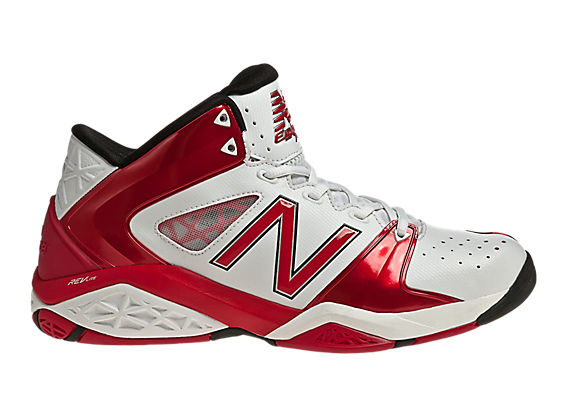 New Balance 82, White with Red