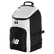 Podium Backpack, Black with Grey & White