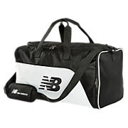 Podium Duffle, Black with White