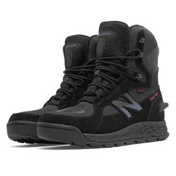 New Balance Fresh Foam 1000 Boot, Black with Grey