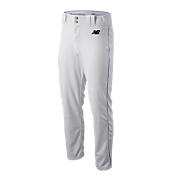 Adversary Piped Pant, White with Royal Blue