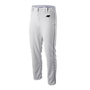 Adversary Piped Pant, White with Black