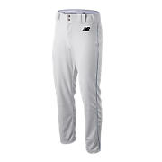 Adversary Piped Pant, White with Navy