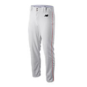 Adversary Piped Pant, White with Red