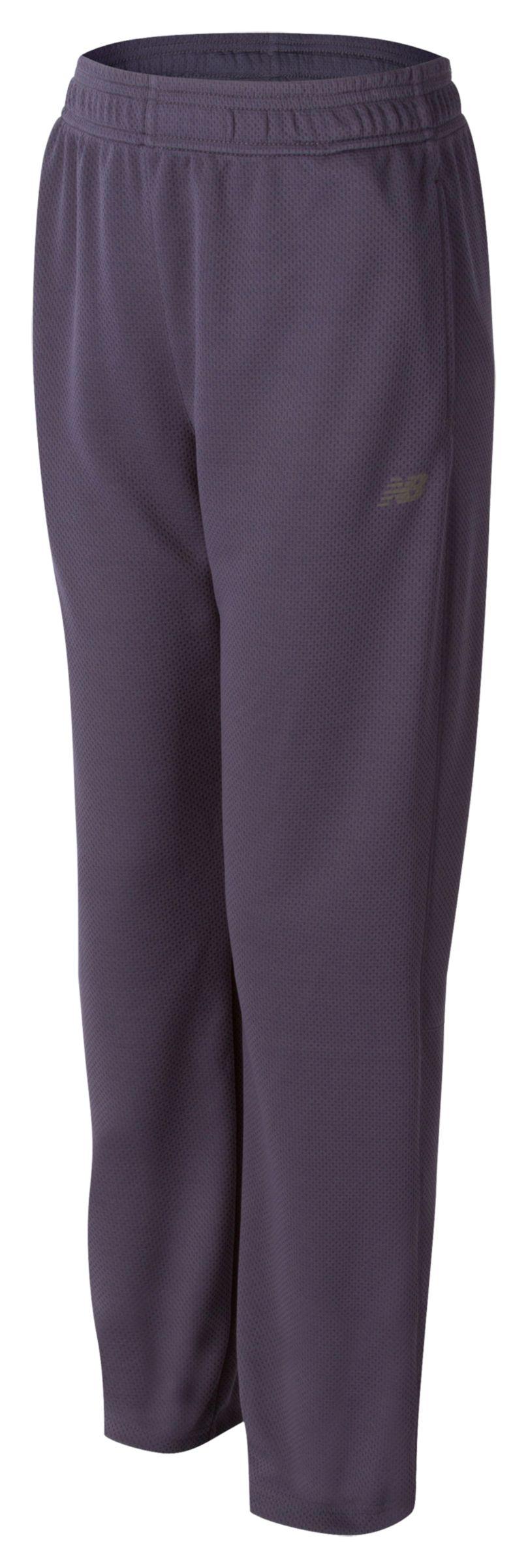 New Balance Boys Athletic Pant Grey