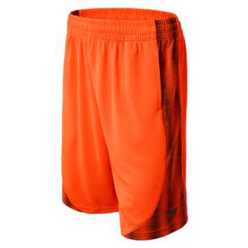 New Balance Performance Shorts, Lava with Black