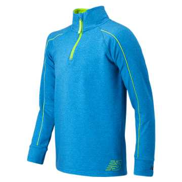 New Balance 1/4 Zip Pull Over, Sonar with Toxic