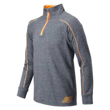 New Balance 1/4 Zip Pull Over, Thunder with Impulse