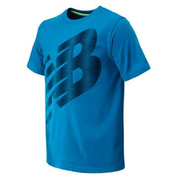 New Balance SS Core Graphic Tee, Sonar