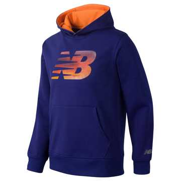 New Balance Graphic Hoodie, Basin