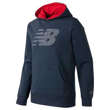 New Balance Graphic Hoodie, Thunder