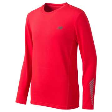 New Balance Long Sleeve Performance Tee, Atomic