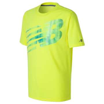 New Balance Short Sleeve Graphic Tee, Firefly