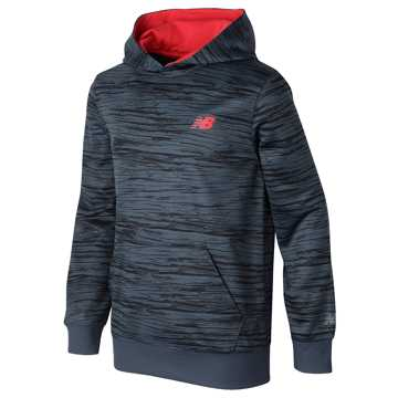 New Balance Graphic Hoodie, Thunder with Atomic
