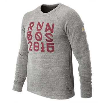 New Balance Boston Fleece Shirt, Grey