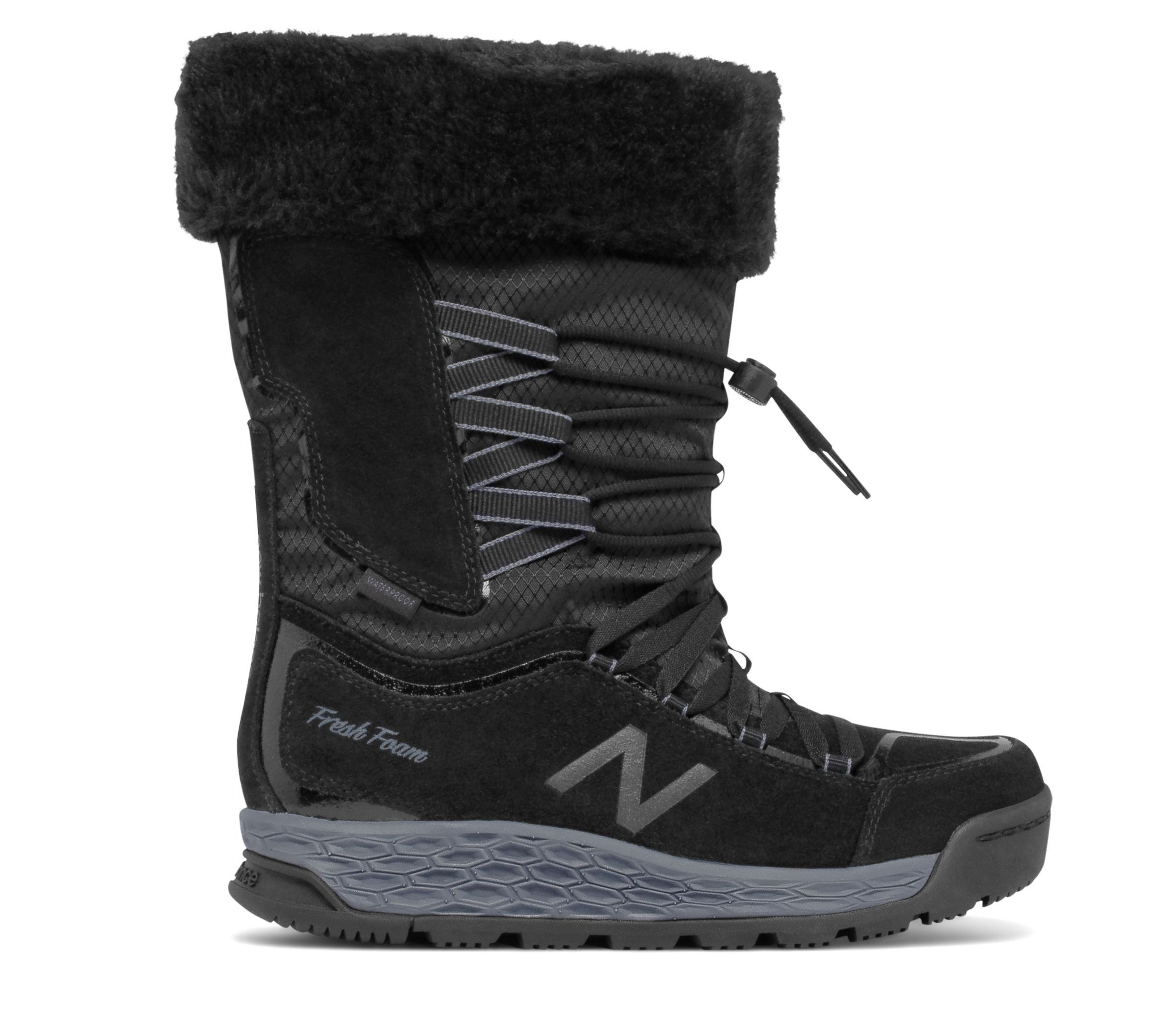 New Balance : Fresh Foam 1000 Boot : Women's Hiking & Walking : BW1000BK