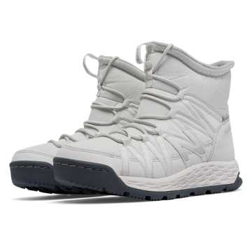 New Balance Fresh Foam 2000 Boot, White with Light Grey