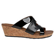 Cobb Hill Natasha, Black Patent with Black