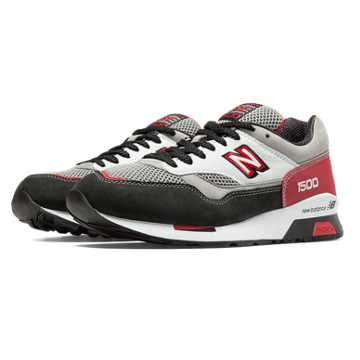 New Balance 1500 Elite Riders Club, Grey with Black & Deep Claret