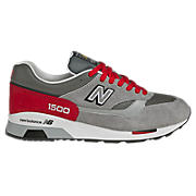 New Balance 1500, Grey with Red