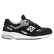 New Balance 1600, Black with Grey & White