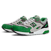 New Balance 1600, Grey with Green