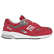 New Balance 1600, Red with Grey & White