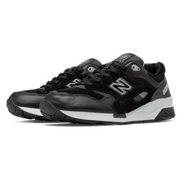 New Balance 1600 Sound and Stage, Black with Grey