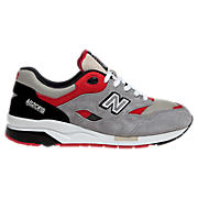 New Balance 1600, Grey with Black & Red