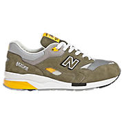 New Balance 1600, Olive with Yellow