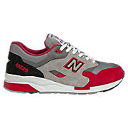 New Balance 1600, Grey with Red