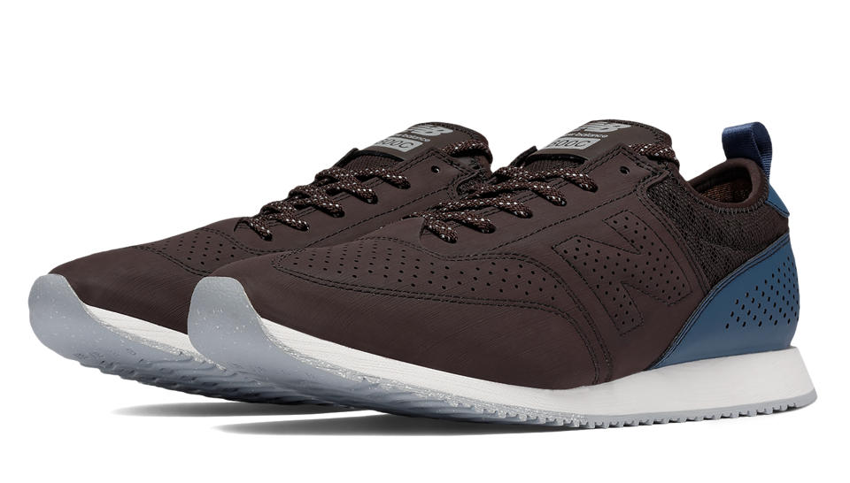 New Balance 600 C-Series, Brown with Navy