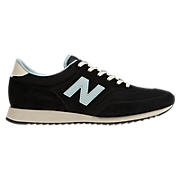New Balance 620, Black with Light Blue & Ivory
