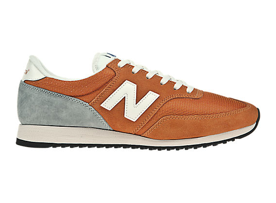 New Balance 620, Orange with White & Grey