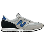 New Balance 620, Grey with Black & Blue