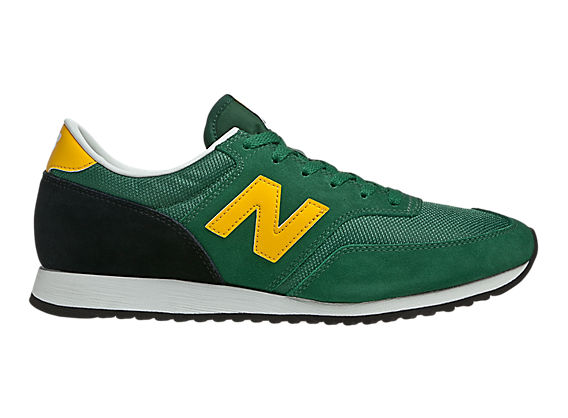 New Balance 620, Green with Yellow & Black