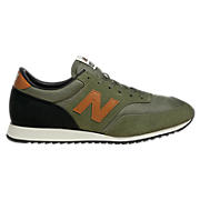 New Balance 620, Olive with Burnt Orange