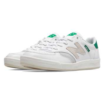 New Balance 300 Graffiti, White with Green