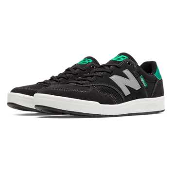 New Balance 300 Graffiti Suede, Black with Green