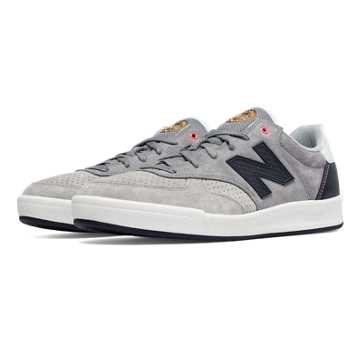 New Balance 300 Tournament Suede, Grey with Light Grey & Dark Grey