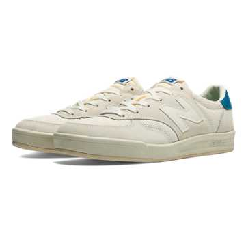 New Balance 300 Vintage, Cream with White
