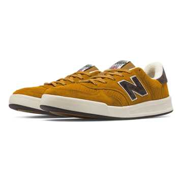 New Balance 300 Made in UK Real Ale, Radiant Yellow with Black
