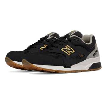 New Balance 1600 Elite Edition Lost Worlds, Black with Stone Grey